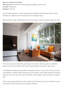 Houzz Room of the Week: A Sunny Extension for the Living Room